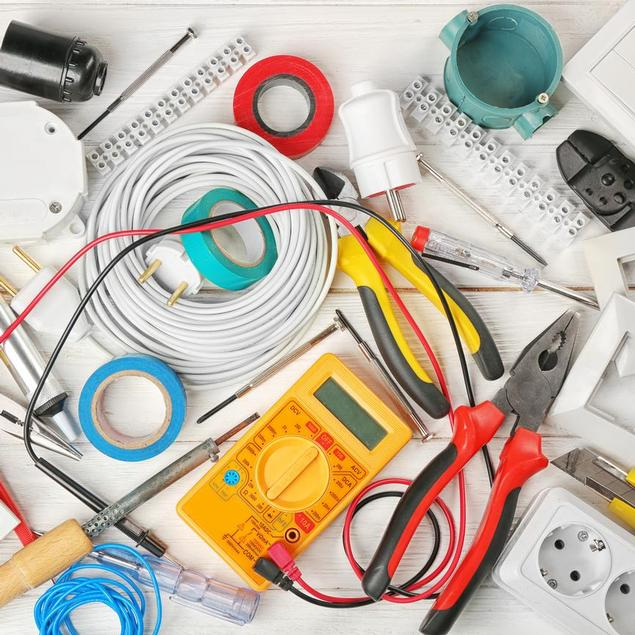 tools for domestic and commercial electrical services